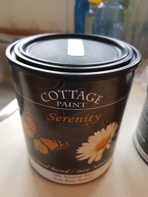 Cottage paint at The Camellia