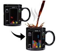 Tetris taza calor taza mágica