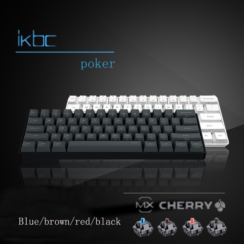 Details about IKBC Poker 2016 Mechanical Keyboard Cherry MX  Blue/Black/Red/Brown Switch