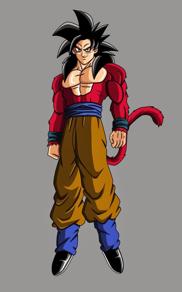 Kumpulan Foto Son Goku Super Saiyan 4  Foto Gambar Terbaru