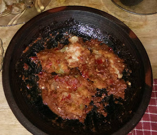 Resep Cara Membuat Ayam geprek sambel trasi