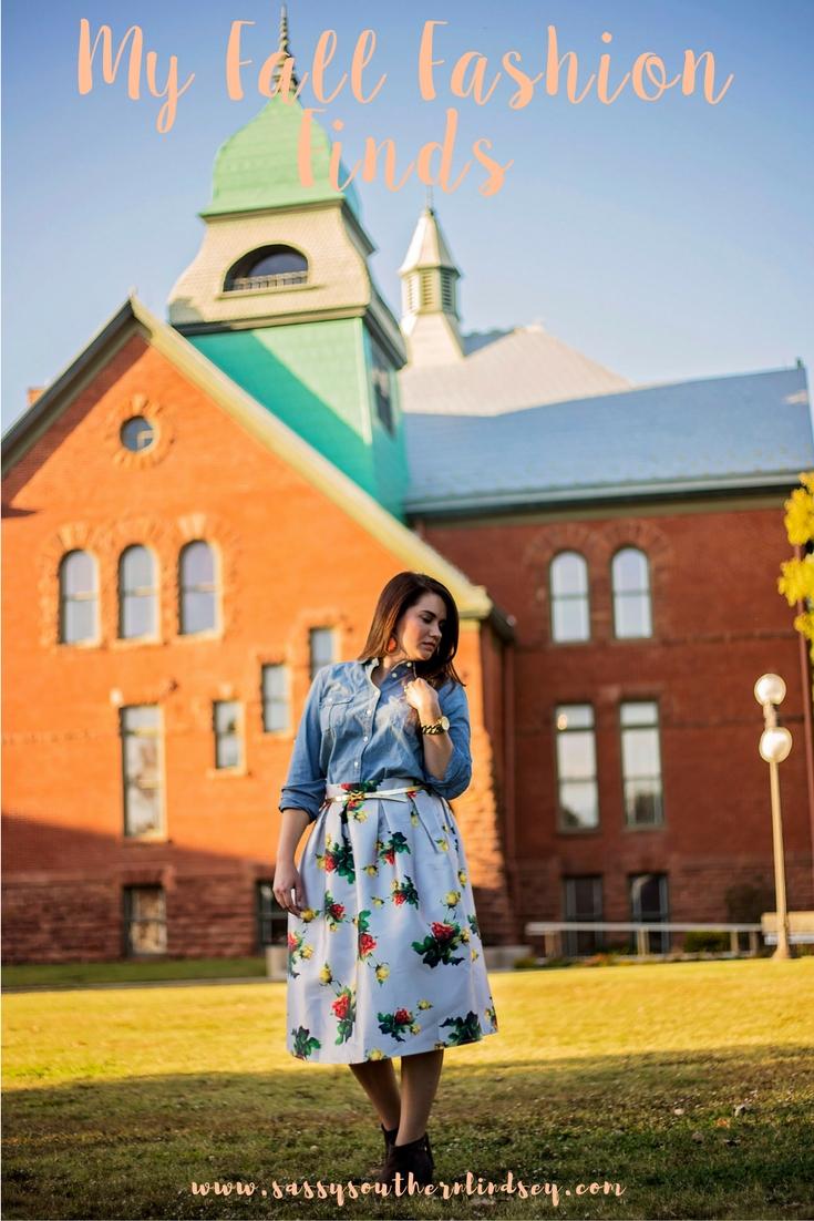 My Fall Fashion Finds--Chambray Showdown