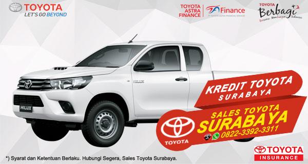 Promo DP Ringan, Paket Kredit Toyota Hilux E-Cab Surabaya