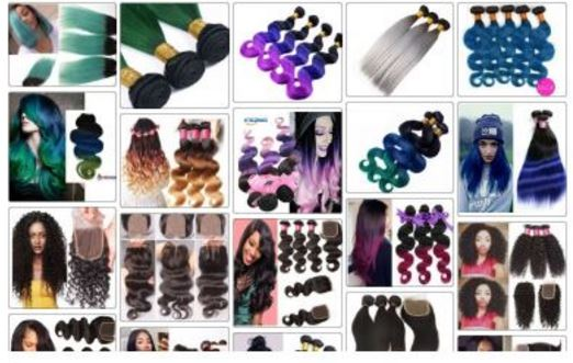 Top Ombre Hair Extensions on Amazon