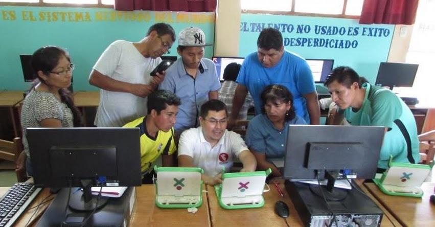 MINEDU capacita en tecnologías digitales a docentes del VRAEM - www.minedu.gob.pe