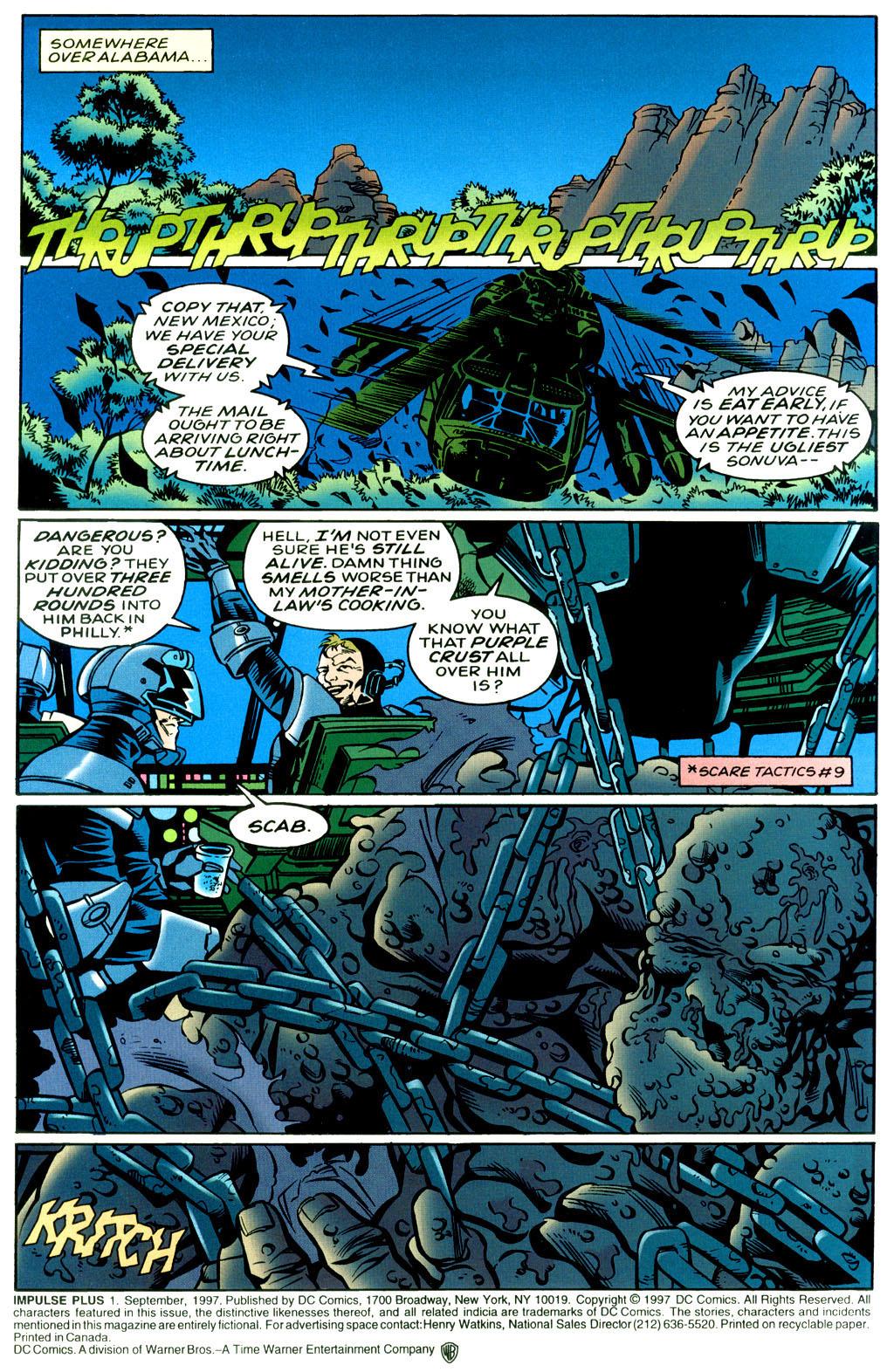 Read online Impulse Plus comic -  Issue # Full - 2