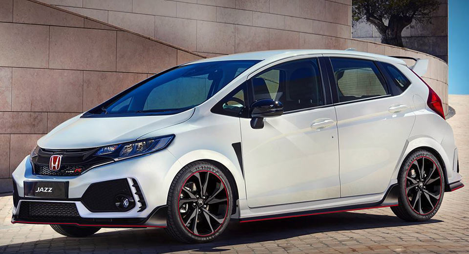Honda Jazz Type R Rendered Fit To Take On Fiesta St