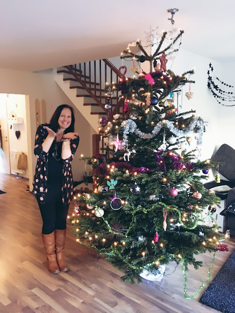 happy new year, me, christmastree, silvester, intention, new year, 2018