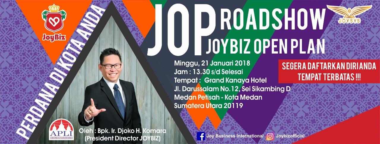 Presentasi JOP Perdana Joybiz di Kota Medan