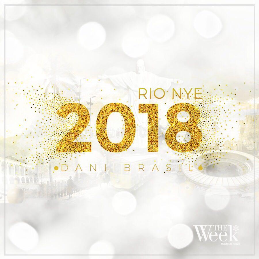 Dani Brasil - RIO NYE 2018 (The Week Brazil)