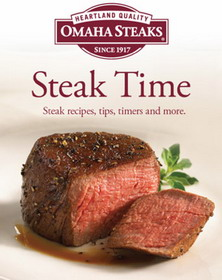 Omaha Steaks releases Steak Time iPhone App