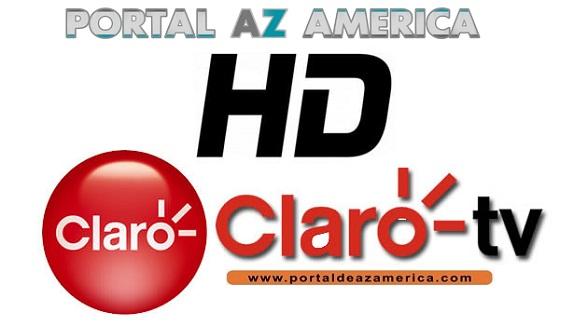 NOVOS CANAIS HD NA GRADE DA CLARO CONFIRA - 24/10/17