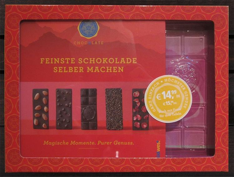 Rezension/Buchvorstellung Feinste Schokolade selber machen von ChocQlate