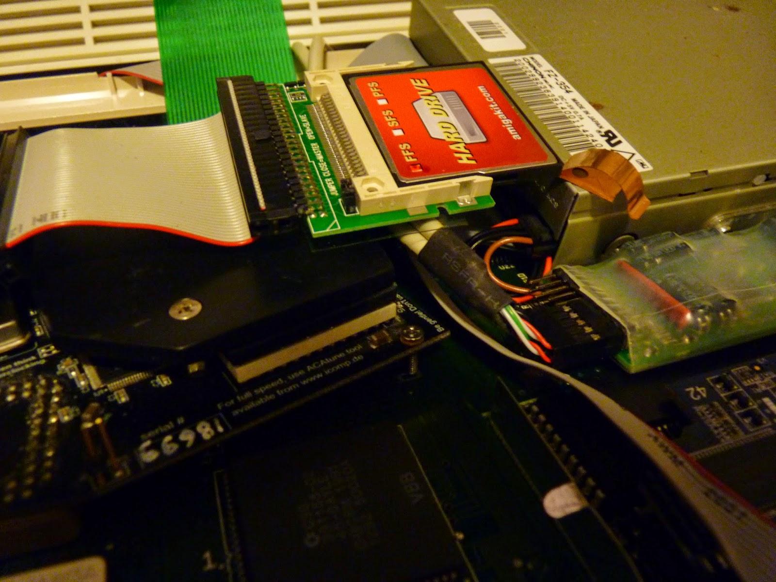 Epsilon's Amiga Blog: Amiga 600 CF AmigaOS Setup Part 1