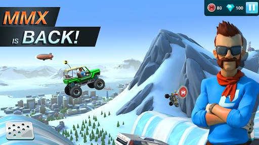 Download MMX Hill Dash 2 Mod Apk Unlimited Money