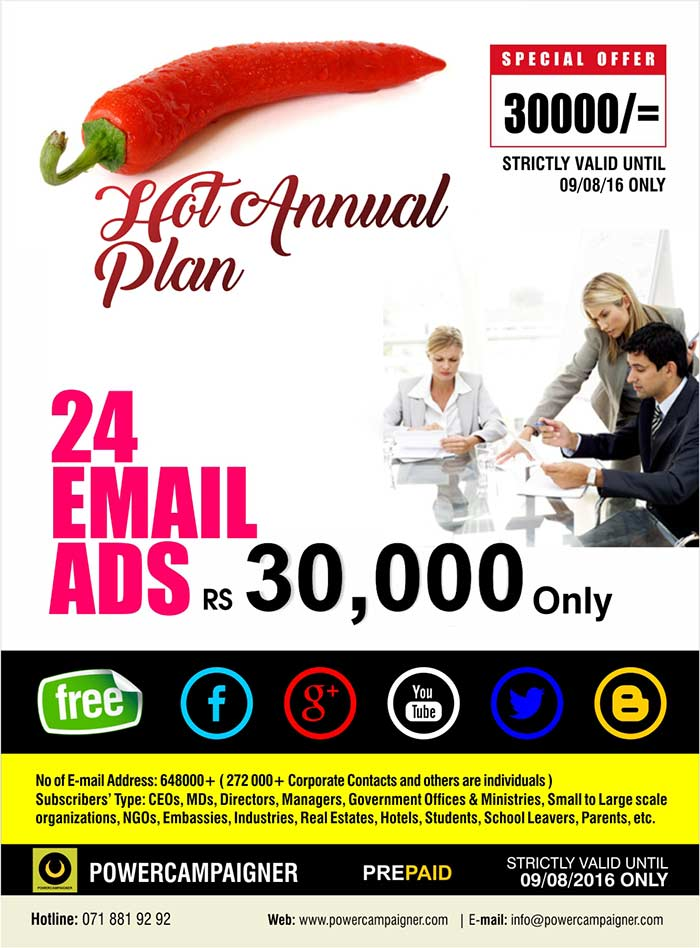 Hot Email Marketing Annual Package