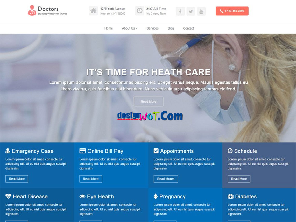 DOCTORS Responsive WordPress Theme