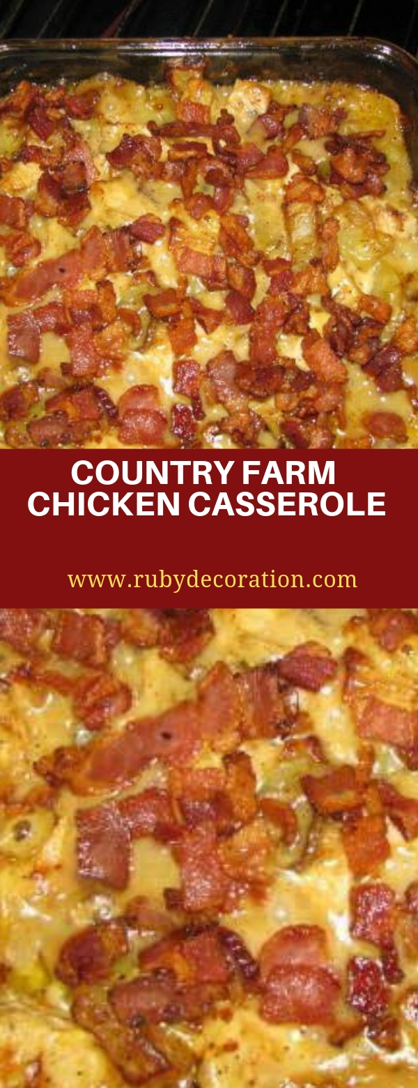 COUNTRY FARM CHICKEN CASSEROLE
