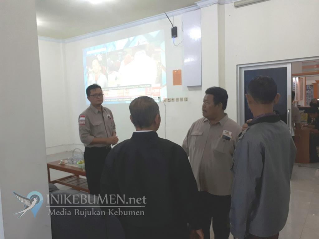 Terkendala Teknis, KPU Kebumen Belum Tayangkan Perolehan Sementara Pilgub Jateng