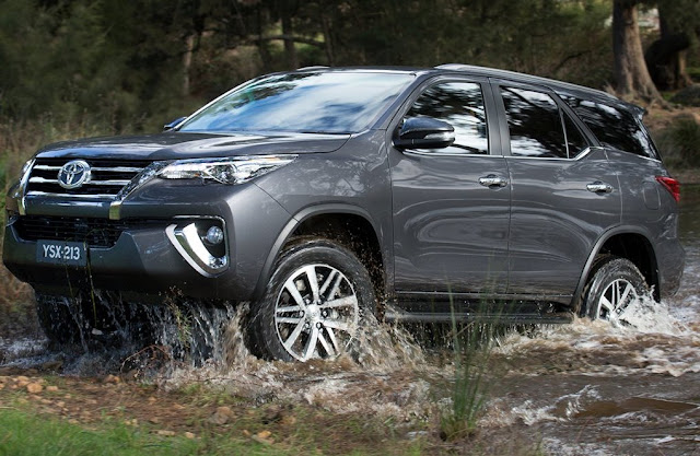 All New Toyota Fortuner Vrz