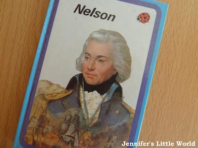 Ladybird Nelson historical figures book