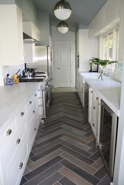 Herringbone Patterned Floor #1