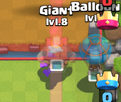Dica de deck com Gigante e Balão - 1