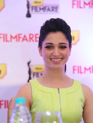 Tamannah at 60th Idea Filmfare Awards South Press Conference