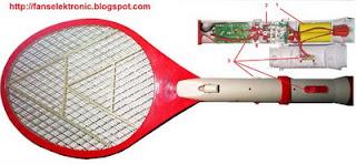 cara mengatasi raket nyamuk rusak