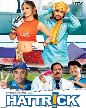 Hattrick 2007 Hindi Movie 720p HDRip 700MB Free Downlaod