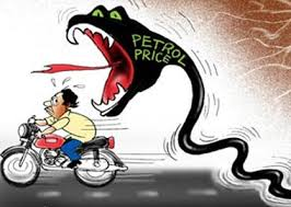 Petrol price hiked by Rs 3.38 per litre, diesel goes up by Rs 2.67