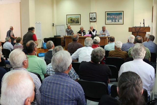 Σύσκεψη Σωματείων Συνταξιούχων στην Αλεξανδρούπολη