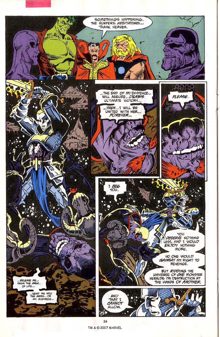 Read online Silver Surfer (1987) comic -  Issue #59 - 26