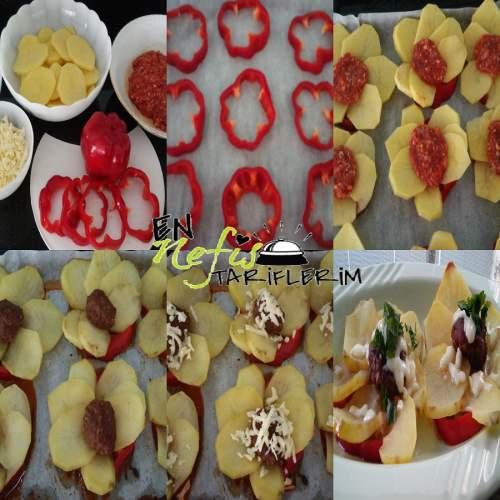 Fırında Köfte Patates Malzemeleri