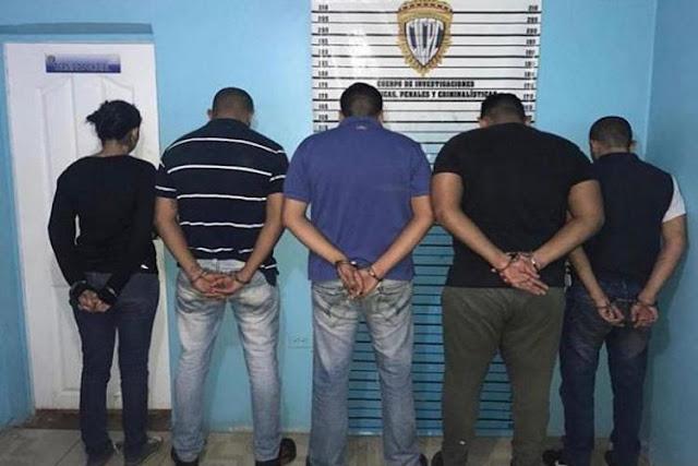 Capturada una banda que estafaba por Facebook e Instagram en el Zulia