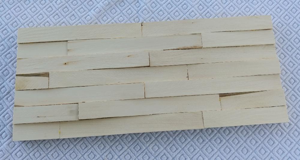 wood shim sign
