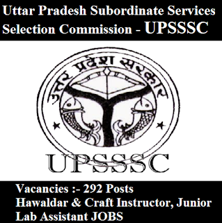 Uttar Pradesh Subordinate Services Selection Commission, UPSSSC, UP, Uttar Pradesh, Lab Assistant, freejobalert, Sarkari Naukri, Latest Jobs, 10th, upsssc logo