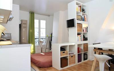 Cara Mudah Mengatasi Apartemen Studio Yang Sempit