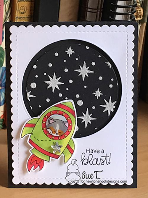Have a blast by Sue features Cosmic Newton and Frames & Flags by Newton's Nook Designs; #newtonsnook