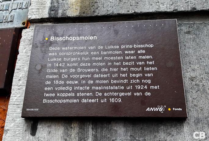 De Bisschopsmolen in hartje Maastricht