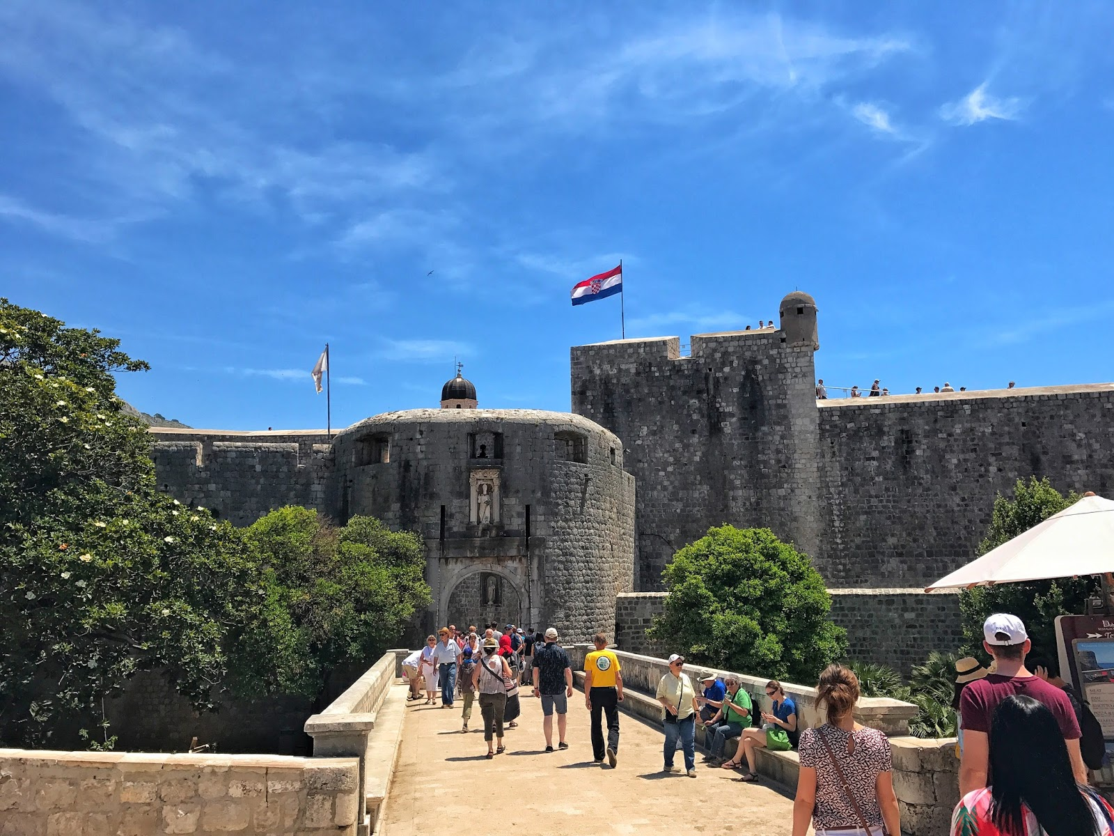 Pile Gate Old City Dubrovnik