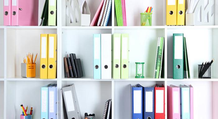 organizzare documenti di casa