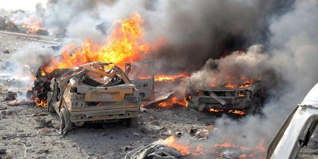 سقوط عشرات القتلى والجرحى السوريين في سلسلة تفجيرات لتنظيم داعش