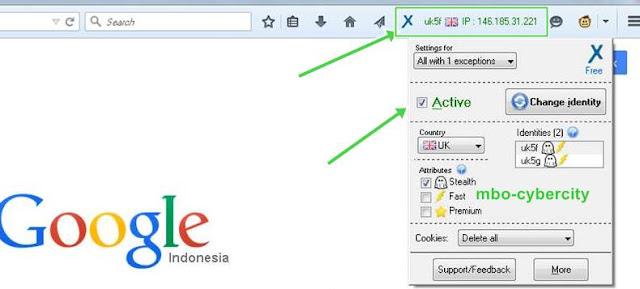 Cara Membuka Internet Positif Di Mozilla