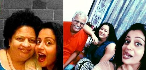 Neha Pendse family
