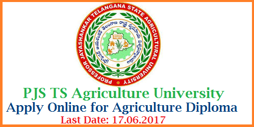 Telangana Agriculture Diploma Admission Notification Apply Online @www.pjtsau.ac.in Professor Jayashanker Telangana State Agricultural University Inviting Online Applicatin Form for Admission into 2 year Agricultural Diploma Course with 10th Class qualification and Candidates from Rural Areas of Telangana are eligible Apply Online for Agriculture Diploma Course in Telangana Agriculture University telangana-agricultural-diploma-admission-apply-online-pjtsau