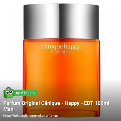 clinique happy edt 100ml man