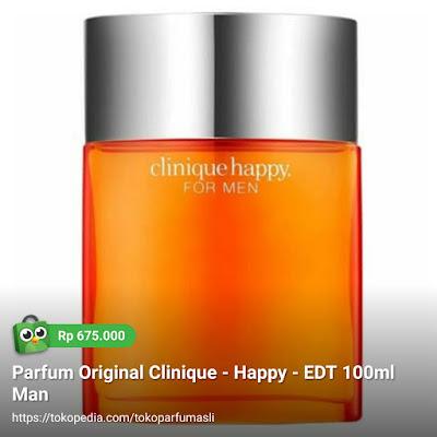 clinique happy edt 100ml man