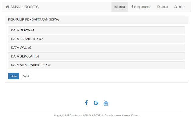 formulir pendaftaran aplikasi ppdb