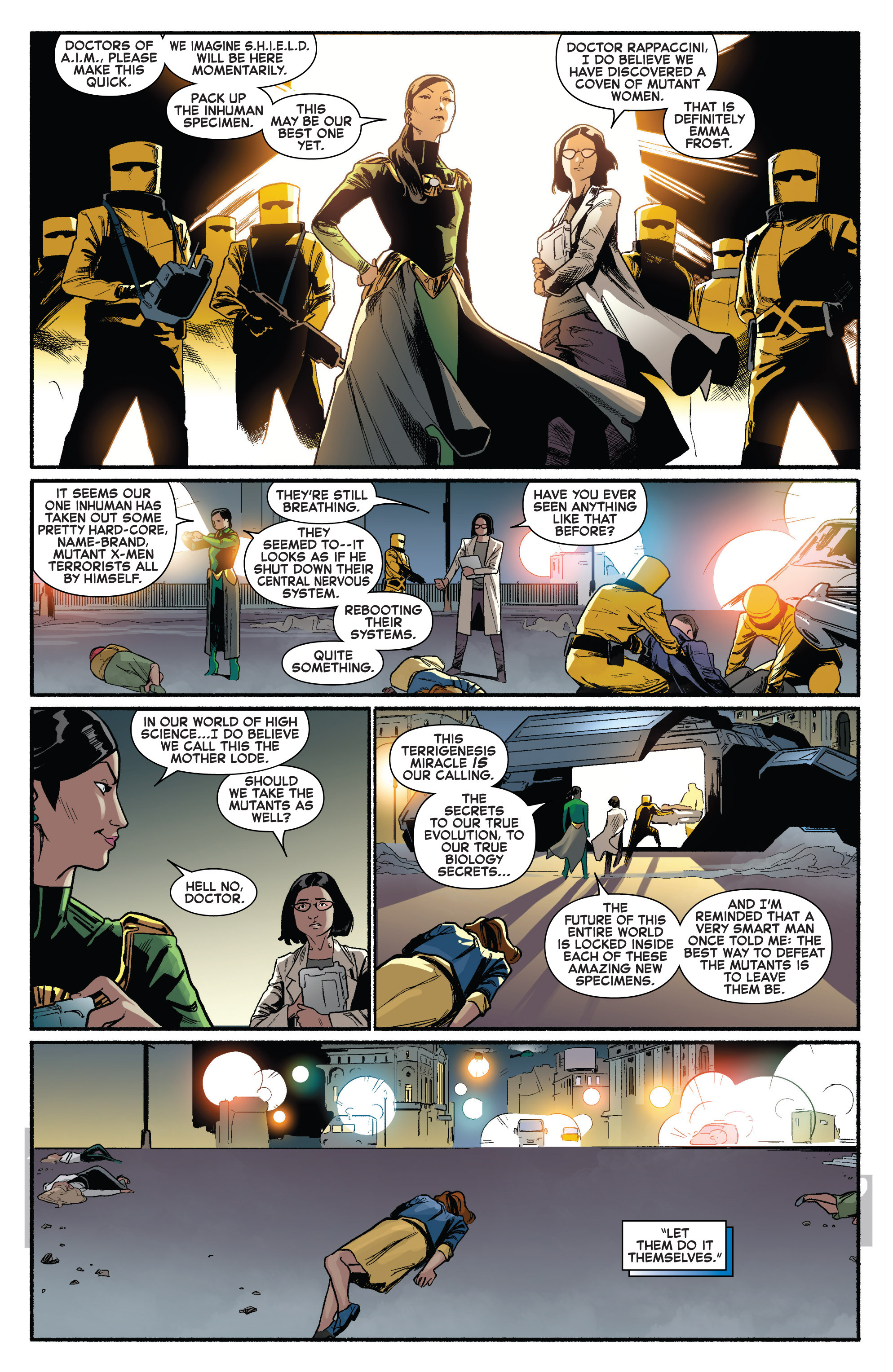 Read online Uncanny X-Men (2013) comic -  Issue # _TPB 3 - The Good, The Bad, The Inhuman - 40
